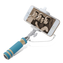 1PC Mini Extendable Handheld Fold Self-portrait Stick Holder For Cell Phone Superior Quality