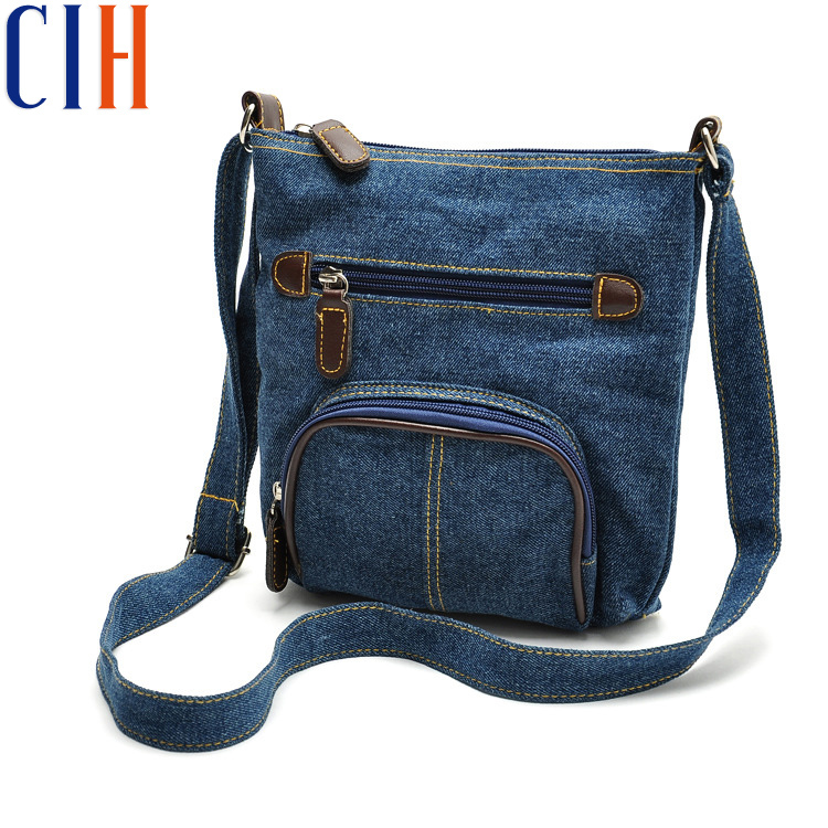 Charm in hands! 2015 Fresh Women Messenger Bags Demin Women Bag Simple Personality Women Shoulder Bags Fashion Style LM1623A(China (Mainland))