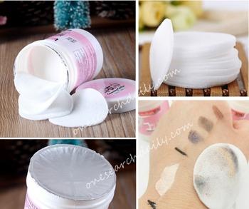 Освежающий макияж на лице красоты очищения водный для удаления хлопок колодки салфетки