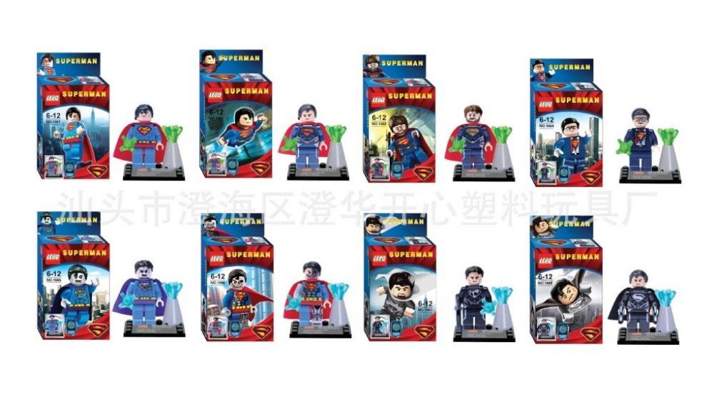 все цены на Детское лего LEBQ 8 /diy Legao super -man в интернете