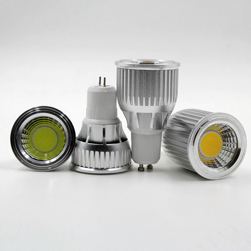 3w 5w 7w 9w 10 12w cob dimmable gu10 led spotlight bulb. Black Bedroom Furniture Sets. Home Design Ideas
