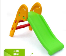 Beatutiful And Colorful Mini Small Indoor toy Children Plastic foldable Slide With Good LLDPE small sliding for kids(China (Mainland))