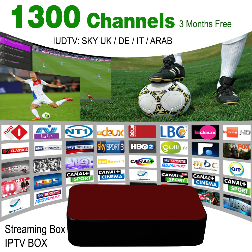 Top 1300+ European Russian IPTV Indian American IPTV Streaming Box Android Streaming Sever Stalker Middleware Better Mag 254 250(China (Mainland))