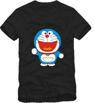 Doraemon t shirt short sleeve t-shirt cartoon tee shirt Japanese anime boy girls tshirt(China (Mainland))