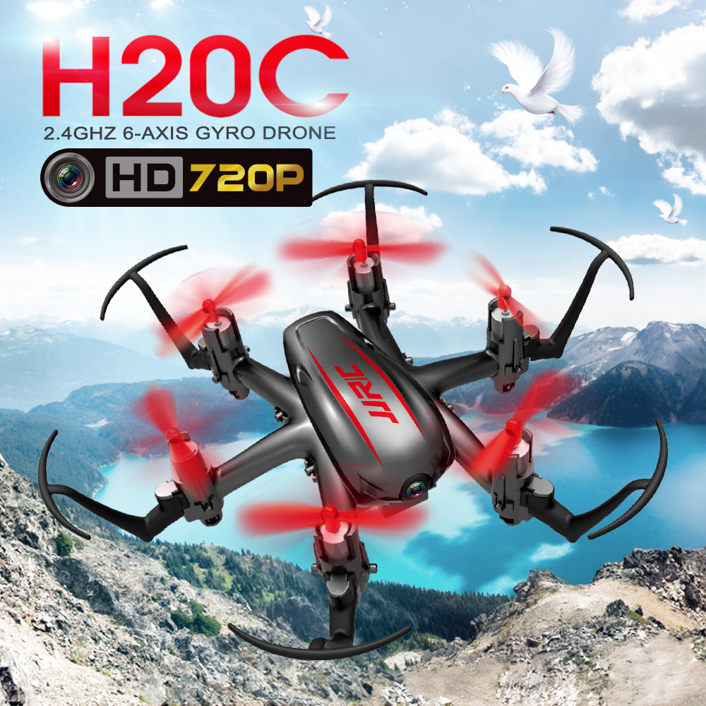JJRC H20C 2.0MP 2.4Ghz 6-Axis Gyro RC Quadcopter Helicopter Drone Camera(China (Mainland))