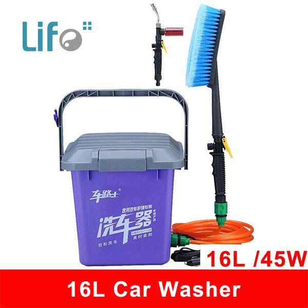 16L 12V 45W High Pressure Pump Car washer & Washing Equipment & Home Portable Water & car wash machine #12(China (Mainland))