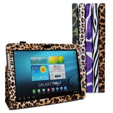 New brand PU Leather Holder Case Stand for Samsung galaxy tab 2 10.1 P5100,Free Shipping