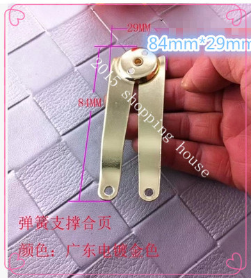 Furniture fittings hinge bracket supporting iron sheet seven words T words R spring hinge(China (Mainland))