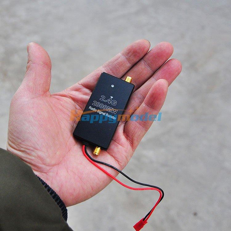 FPV 2.4G 2000MW Radio Signal Booster Amplifier For DJI Phantom Transmitter FPV Extend Range