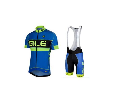 Vini fantini ALE blue 2015 Cycling Jersey Ropa Maillot Culotte Ciclismo Bicycle clothing MTB shirt gel bib shorts sets(China (Mainland))