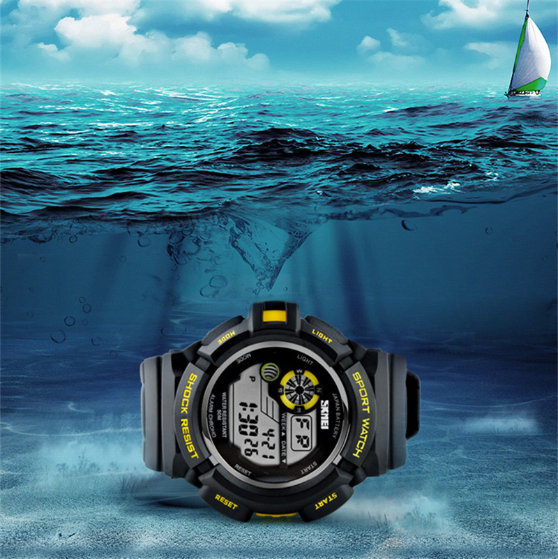 SKMEI 0939 Style Digital Watch Men military army Watch 50M water resistant Date Calendar LED Sports Watches relogio masculino(China (Mainland))