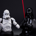 Star Wars Piggy Bank 20CM Star Wars Stormtrooper Darth Vader PVC Action Figure Collectible Model Toy