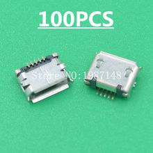 Buy 100Pcs Micro USB Type B Female 5Pin SMT Socket Jack Connector Port PCB Board Charging High Sell Loss USA for $2.79 in AliExpress store
