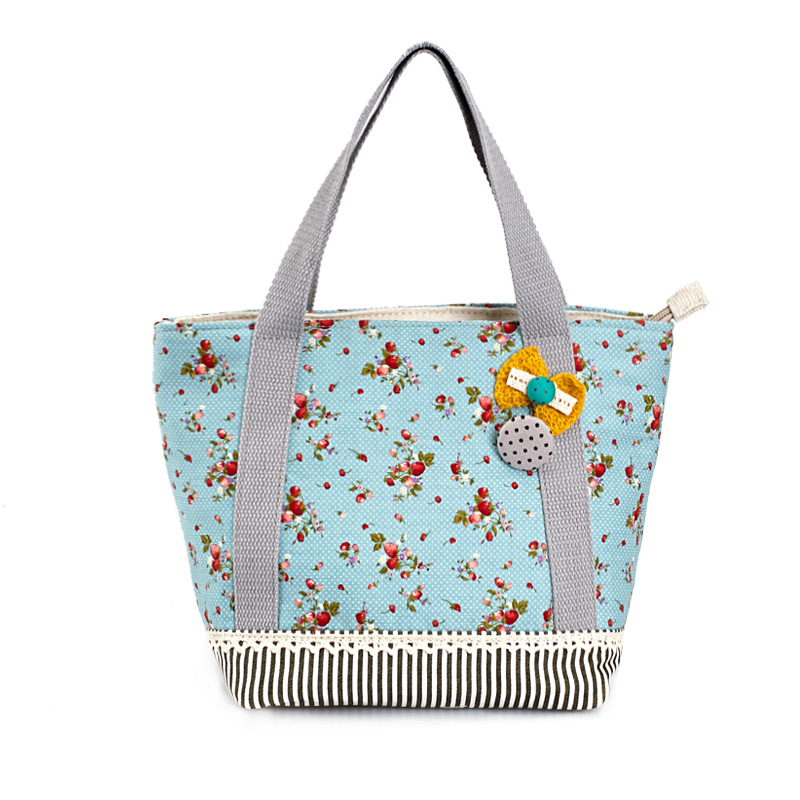 2016 Time-limited Direct Selling Tote Polyester Totes The Native Korean Mobile Wallet Small Flower Mosaic Cute Purse Female Bag(China (Mainland))