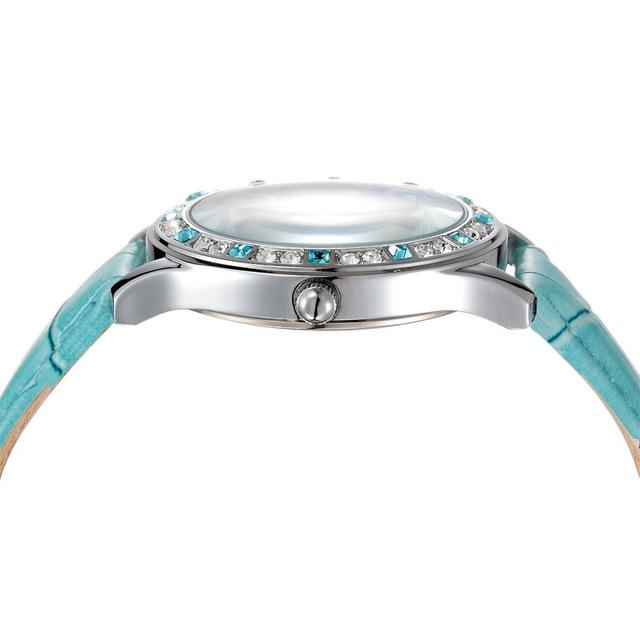 Zegarek damski błyszczący kryształki luksusowy różne kolory