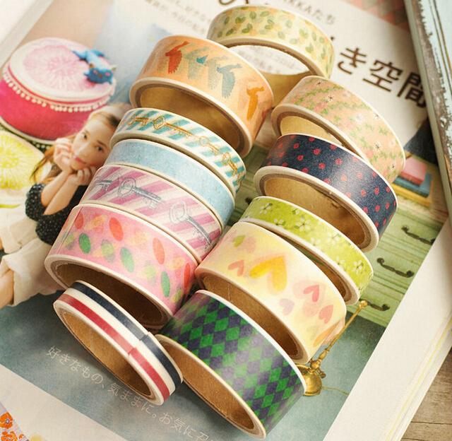 3 pcs/lot Cute Kawaii Cartoon Paper Masking Tape Dot Flower Animal Tape Designer for decoration Scrapbooking Free shipping 129<br><br>Aliexpress