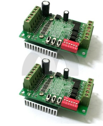 2x Single 1 Axis TB6560 3A Motor Driver Stepper Board CNC Router Controller - Electronic-Home88 store