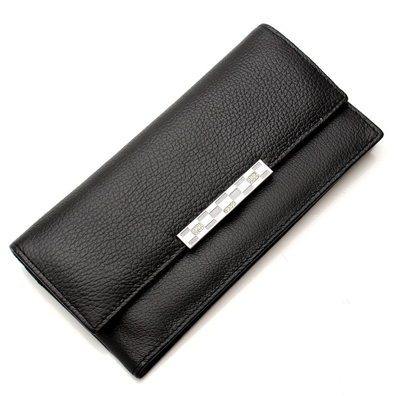 Genuine Leather Wallet Women Wallets and Woman Purses Designer Brand Famous Long Coin Clutch Bag Purse Card Holder 2015