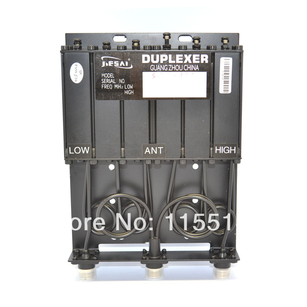 2016 New 50W VHF 6 Cavity Duplexer for GM300 GM3188 GM338 SQ150 With Free Shipping(China (Mainland))