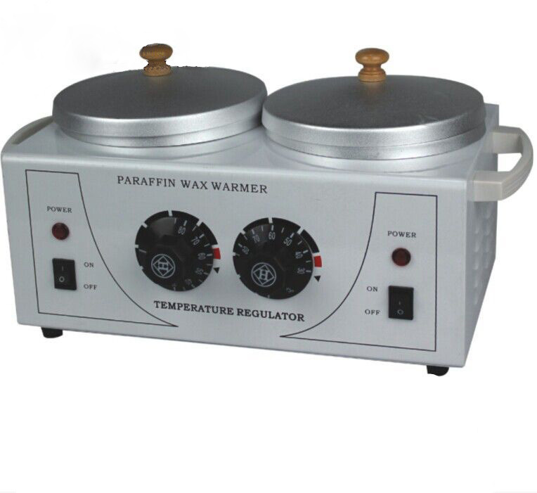 NEW design double Wax Warmer Paraffin bath for hands Mini Beauty Salon Hot Paraffin Skin Care Machine(China (Mainland))