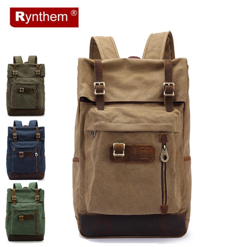 Men Casual Fashion Canvas Bags Mens Softback Computer Laptop Bag Soft Handle Travel Backpack Promotion Mochilas
