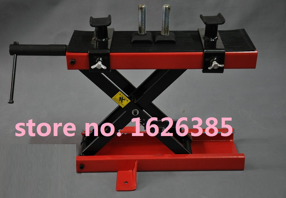 500kg/1102LB Motorcycle stand motorcycle lift table motorcycle Scissor Lift table Garage Shop Stand(China (Mainland))