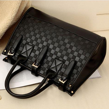 2016 new style fashion women leather handbag crossbody over shoulder tote sling retro bag ladies high quality casual bolsas