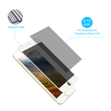 Pavoscreen New 0.2mm Privacy Anti Spy Tempered Glass For Apple For iPhone 6 Plus 6s Plus Screen Protector Glass Film For iPhone