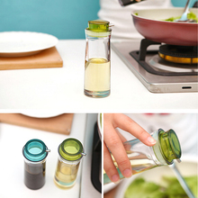 Practical Leak-proof Seal Food Grade Plastic Bottle Spice Vinegar Soy Sauce Bottle Kitchen Accessories Cooking Tools Cruet