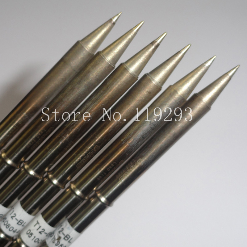 [SA]Japanese white HAKKO T12-BL lead-free soldering iron tip , welding head--5PCS/LOT<br><br>Aliexpress