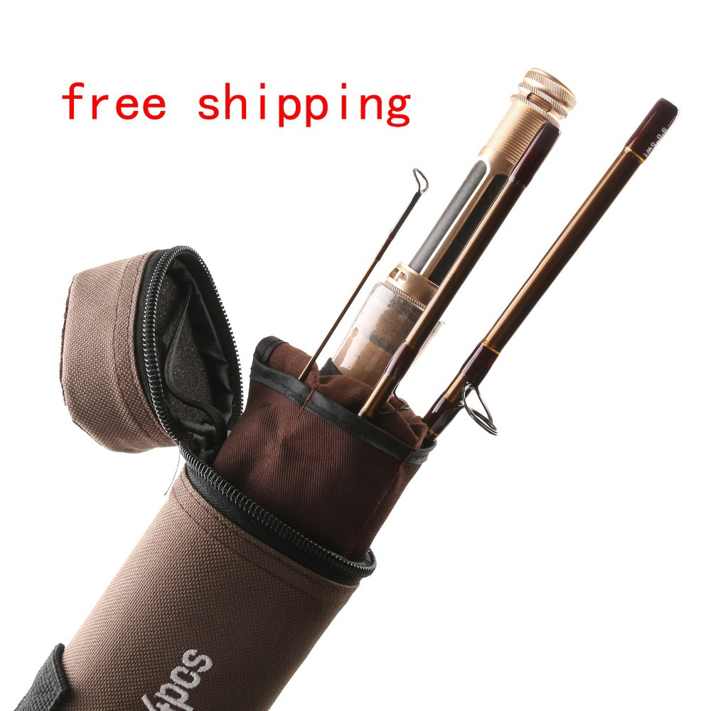V gold 40t sk carbon fly rod 9ft 5wt 4sec fast action fly for Shipping tubes for fishing rods