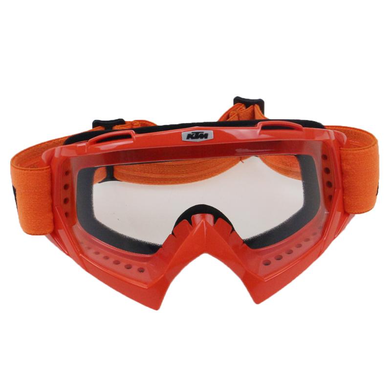 Racing style Motor sports goggles Orange KTM style motorbike goggles ATV UTV Off Road bike glasses wear popular model on sale(China (Mainland))