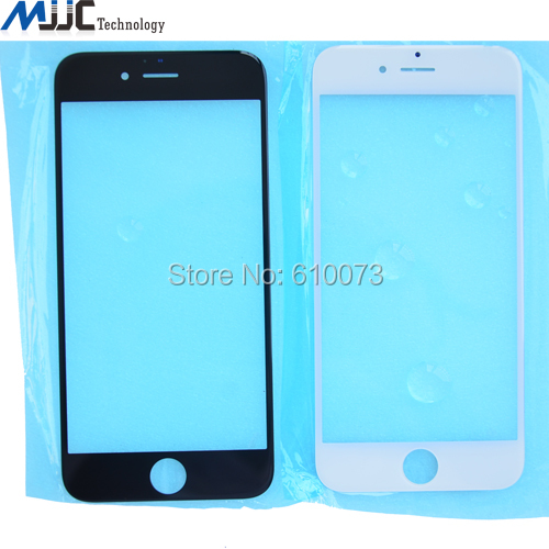 Top Quality LCD Front Screen Glass Lens Replacement for iPhone 6 Glass OCA User touch panel Screen Cover 100PCS DHL(China (Mainland))