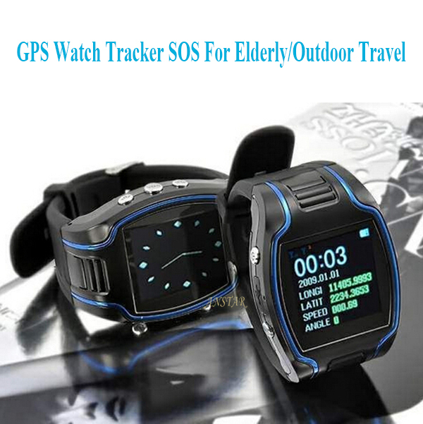 1.5 inch Sceen GPS Tracker GSM Quadband GPRS GPS Wrist Watch Tracker for Kid Elderly Outdoor Travel+Time Display Two Way Calling(China (Mainland))