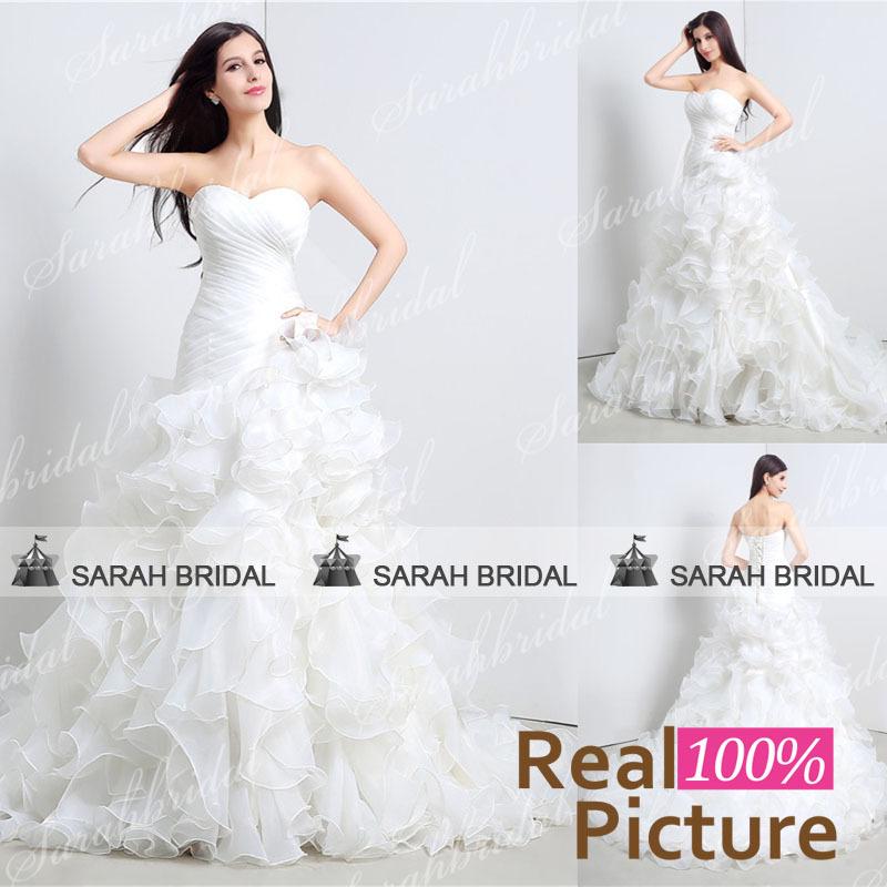 Свадебное платье Sarahbridal 2015 30110