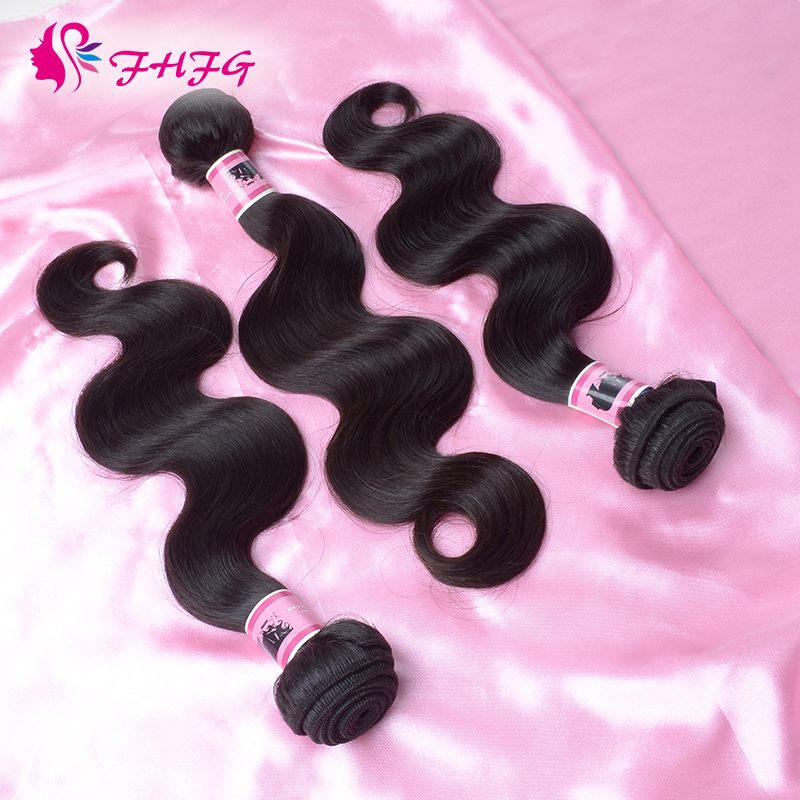 Unprocessed Brazilian Virgin Hair Affordable Brazilian Virgin Hair Wody Wave Natural 5a brazilian virgin hair body wave(China (Mainland))