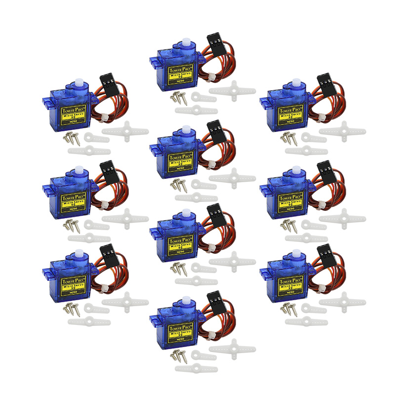 Free Shipping 20PCS SG90 9g Mini Micro Servo for RC for RC 250 450 Helicopter Airplane Car Boat(China (Mainland))