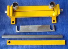 Small Manual Steel sheet Iron plate Crimping machine Bending machine(China (Mainland))
