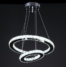 2013 new arrival led pendant lamp this year very pouplar design  dia 500 and dia 300mm 2 ring make it free shipping 299 dollar(China (Mainland))