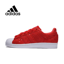 Original Adidas Originals SUPER STAR Women's Skateboarding Shoes S77411 sneakers free shipping