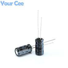 Buy 20 pcs Electrolytic Capacitors 100V 22UF Aluminum Electrolytic Capacitor for $1.29 in AliExpress store