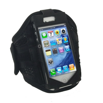 Black High Quality Design Sports Armband Case for iPhone 4 4S<br><br>Aliexpress