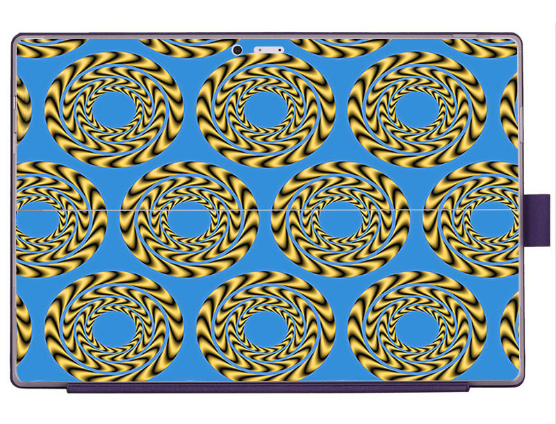 Circle Decal Skin Sticker For Microsoft Surface Pro3 With Side Skin Laptop Stickers for Surface Pro 3 Creative(China (Mainland))