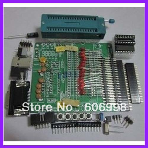 DIY Learning Board Kit STC89C52 51/AVR MCU Development Board/Learning Board Spare Parts(China (Mainland))