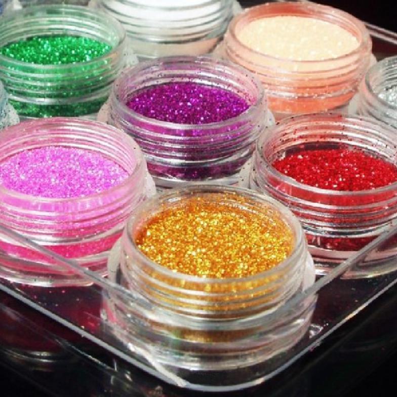 Beauty 12 Color/ Set Metal