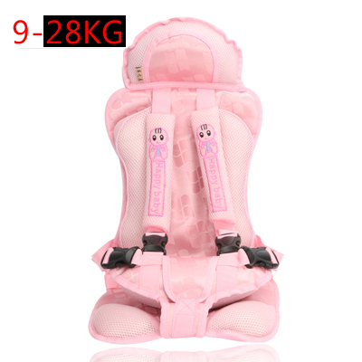 Good quality portable Baby Car Seats Child safety car seat infant baby Protect Cover for children Brown Auto harness carrier(China (Mainland))