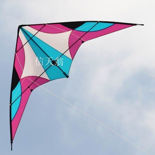 New stunt kite /dual lines contral & power stunt kites with lines and handles(China (Mainland))