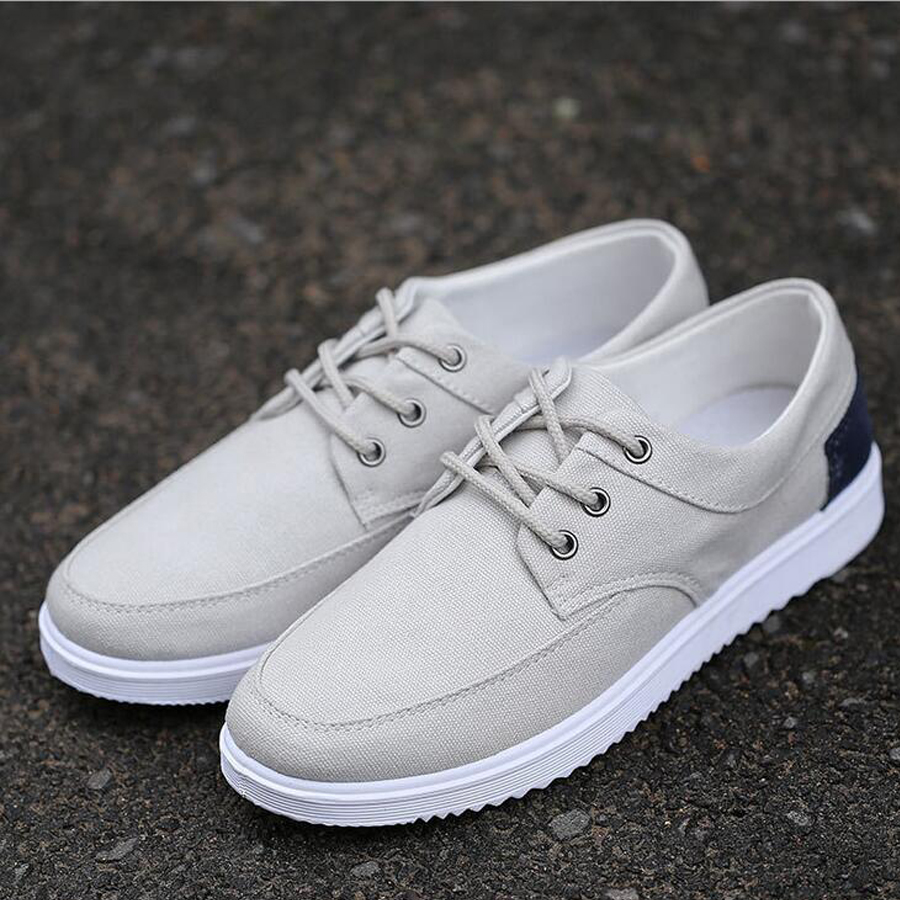 Hot Selling New Style summer fashion men canvas men breathable casual soft large size comfortable all match skate shoes(China (Mainland))