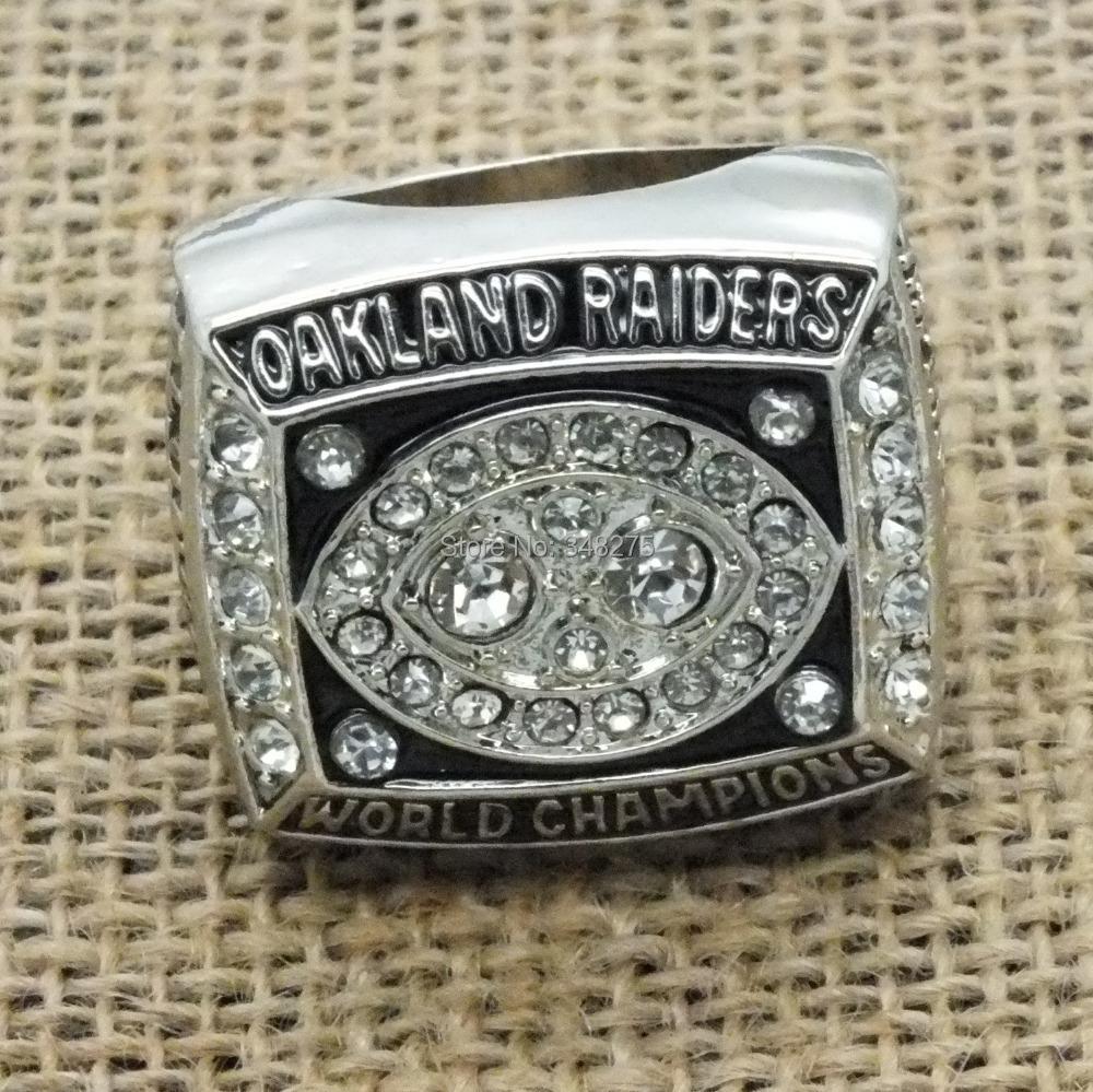 1980 Oakland raiders super bowl championship ring - artware Jewellery Company store