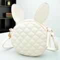 wholesale Cute black bunny ears girl bag diagonal packet rivet party clutches women crossbody shoulder messenger